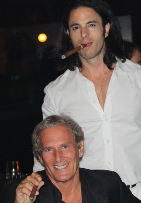 EXCLUSIVE!: Michael Bolton Drinks & Smokes the Night Away