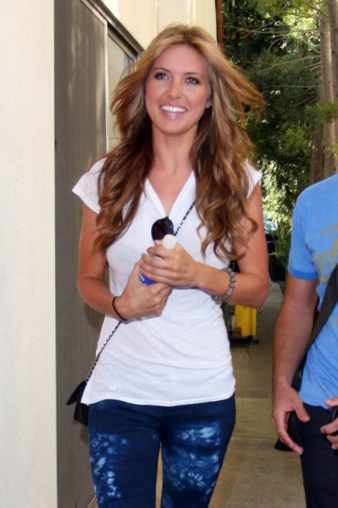 audrina patridge blonde. Audrina Patridge Becomes the