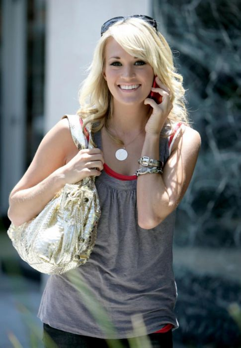 carrie underwood and mike fisher. Carrie Underwood Engaged To