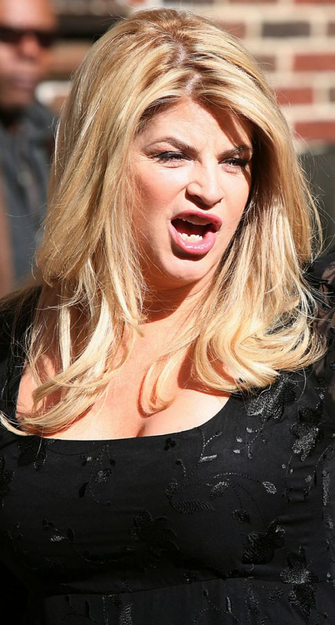 Kirstie Alley Doesn't Rule Out Getting Naked