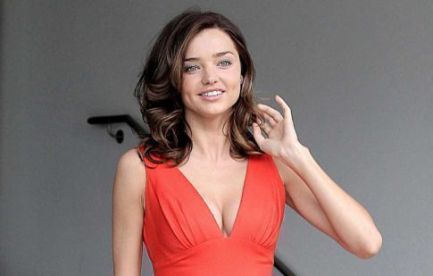 Miranda Kerr's A Lady In Red