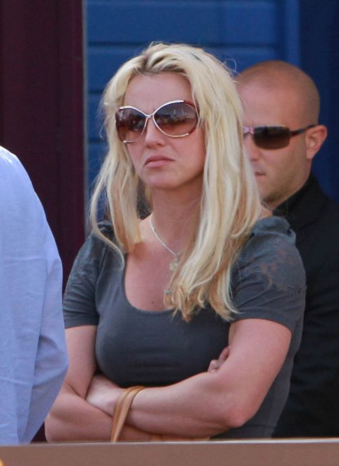 Britney Spears bodyguard claims sexual harassment by busty