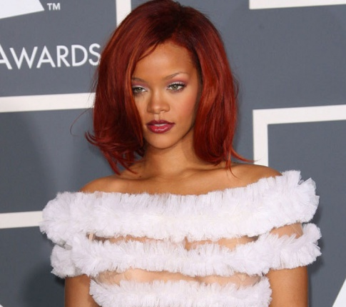 Grammy Looks: Rihanna's See Through Dress