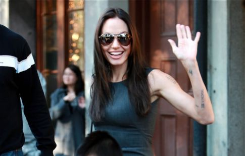 In Touch claims that Angelina Jolie is pregnant once again.