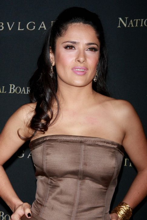 salma hayek breastfeeding addiction. Salma Hayek Breastfeeding